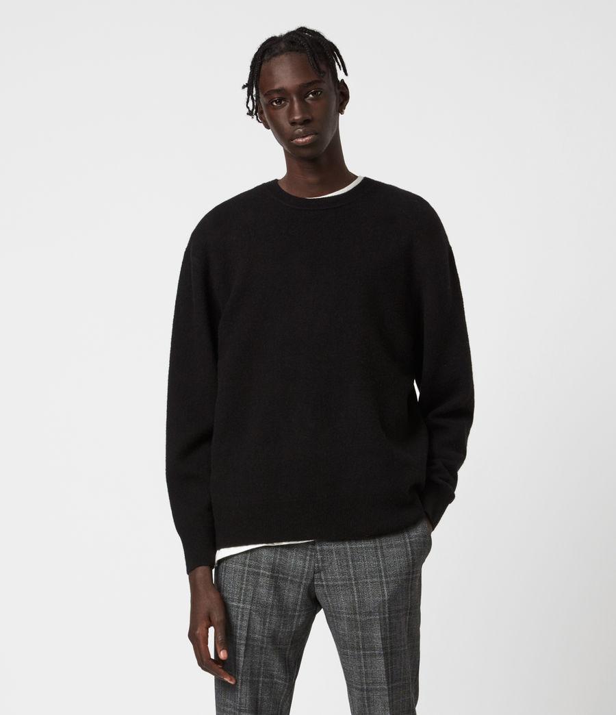 Mens Lori Crew Sweater (black) - Image 2
