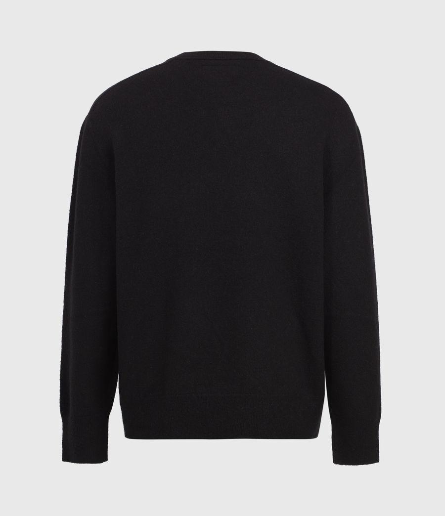 Mens Lori Crew Sweater (black) - Image 4