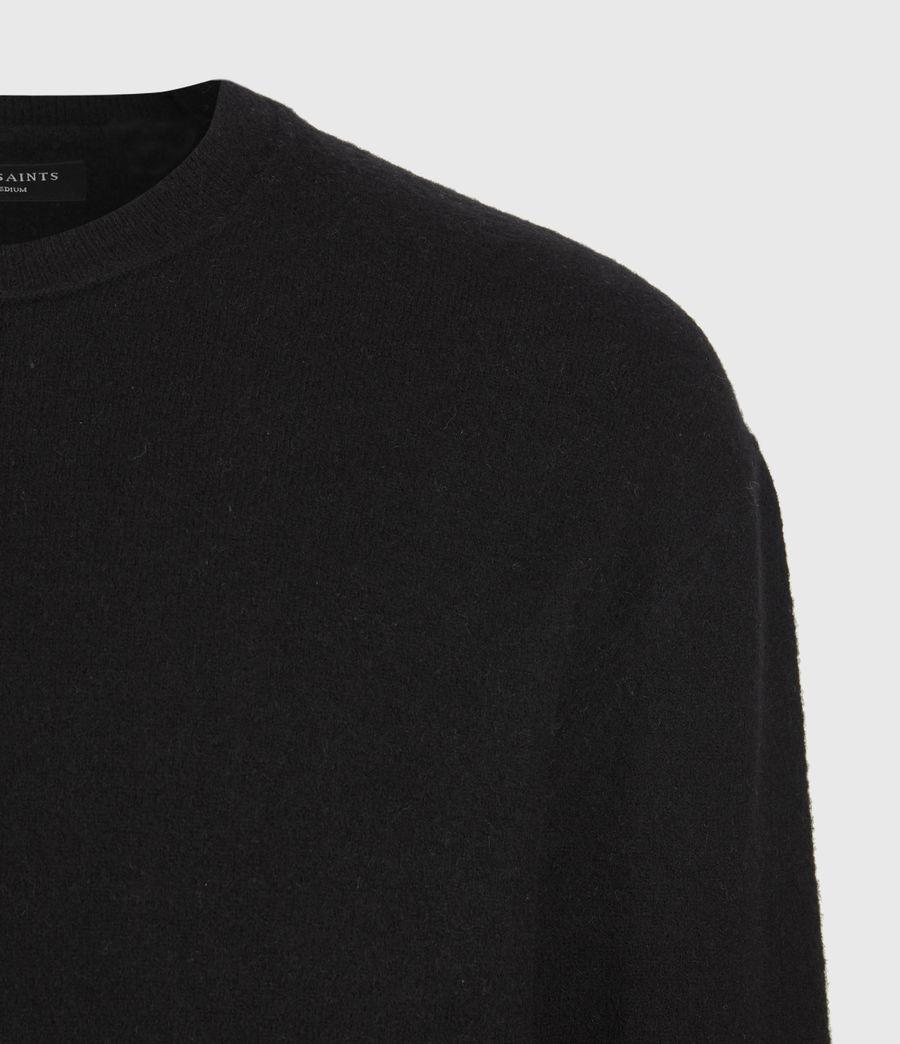 Mens Lori Crew Sweater (black) - Image 1