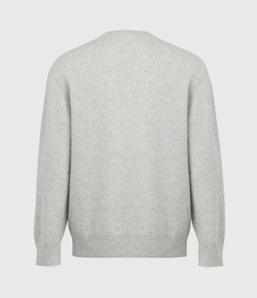 Mens Lori Crew Sweater (light_grey_marl) - Image 3