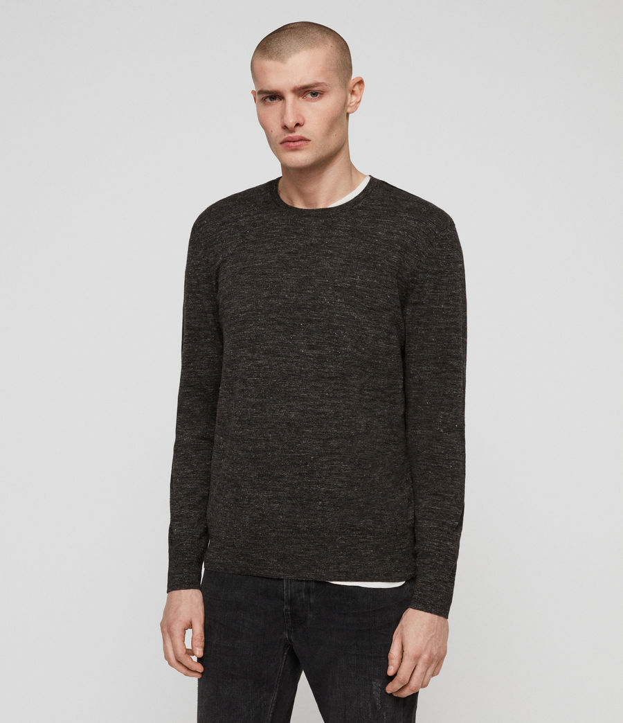 Men's Romarn Jumper (black_marl) - Image 1
