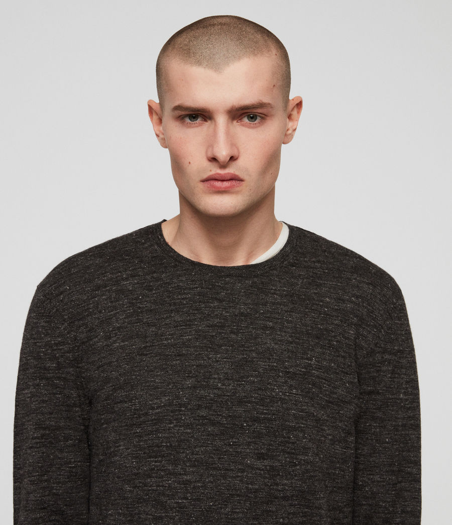 Men's Romarn Jumper (black_marl) - Image 2