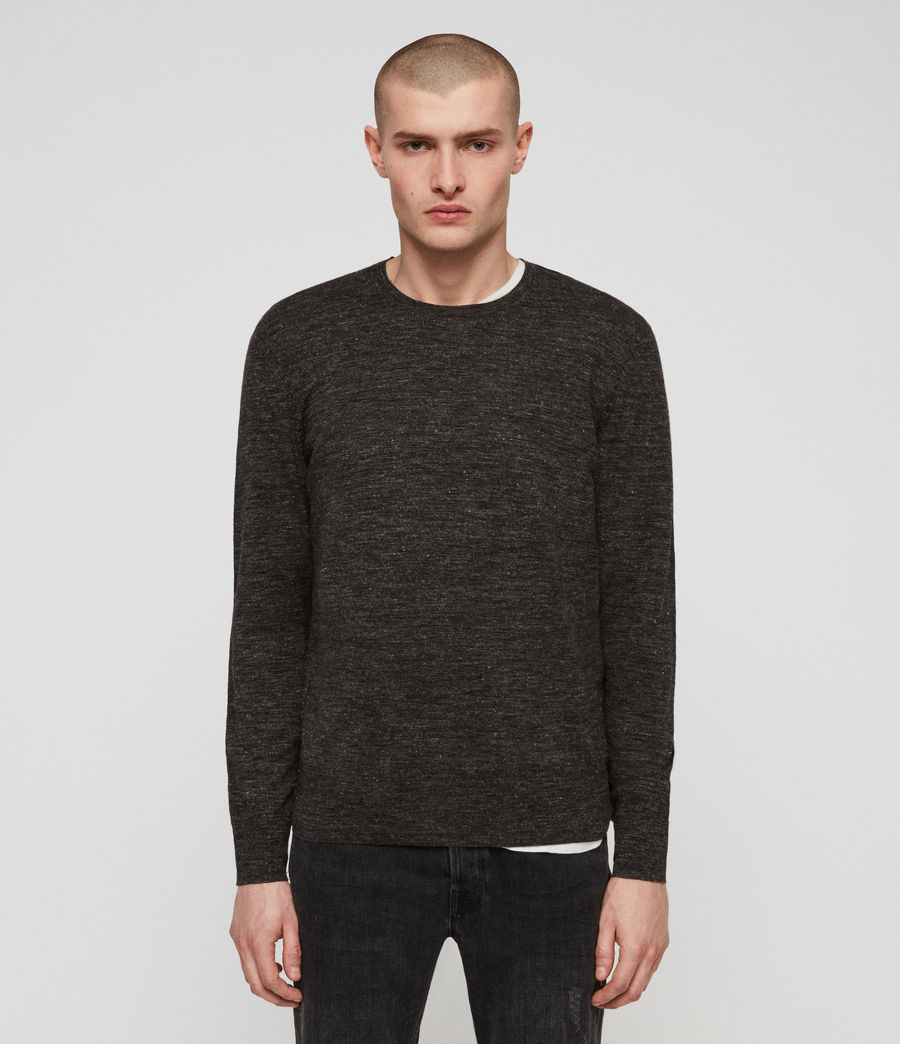 Men's Romarn Jumper (black_marl) - Image 3