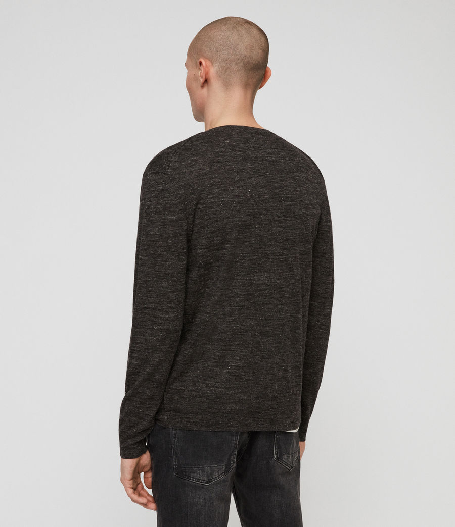 Men's Romarn Jumper (black_marl) - Image 4