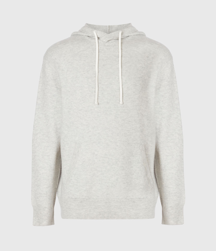 Mens Lori Hoodie (light_grey_marl) - Image 3