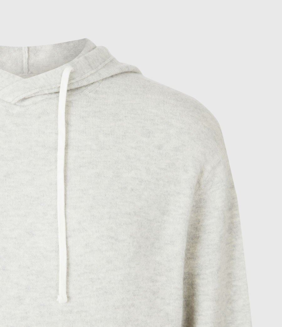 Mens Lori Hoodie (light_grey_marl) - Image 5