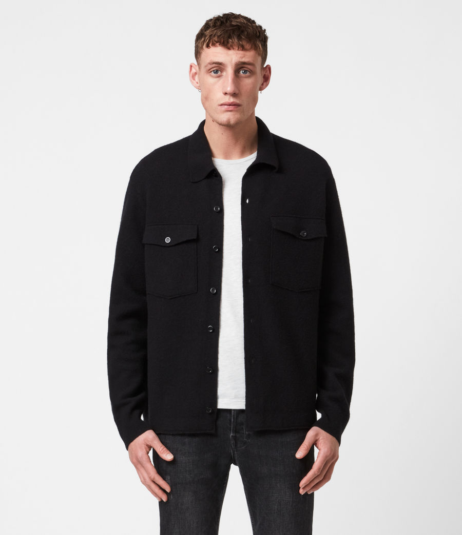 Men's Lori Cardigan (black) - Image 1