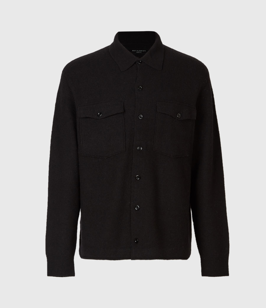 Men's Lori Cardigan (black) - Image 2