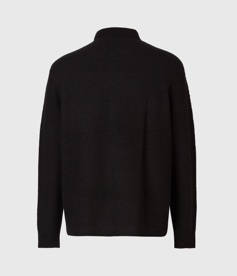 Men's Lori Cardigan (black) - Image 3
