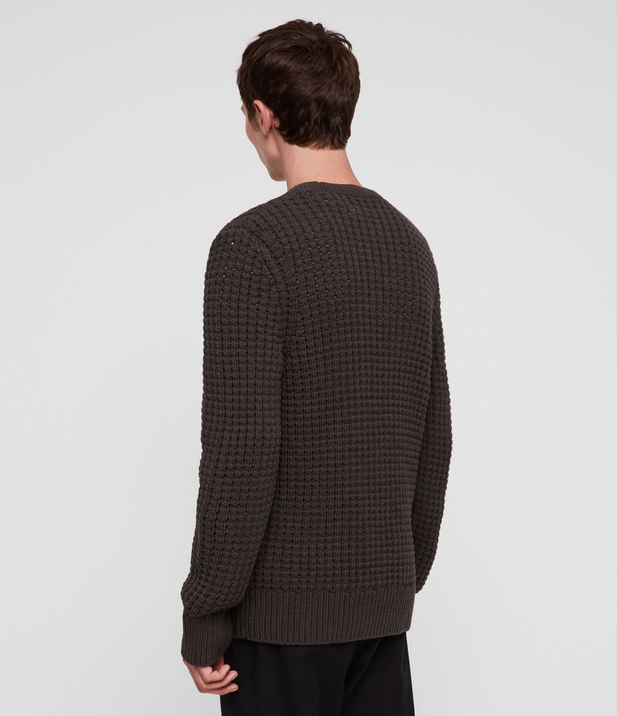 Men's Medar Crew Jumper (khaki_brown) - Image 4