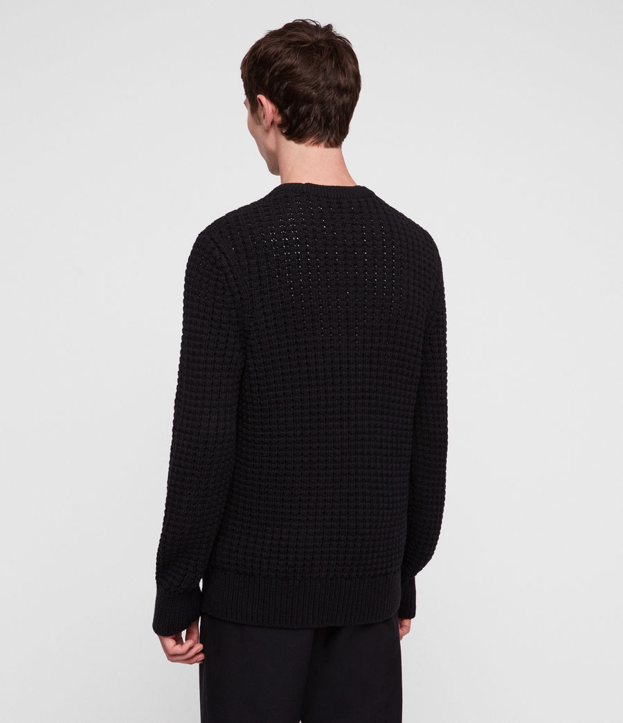 Hommes Pull Medar (black) - Image 4