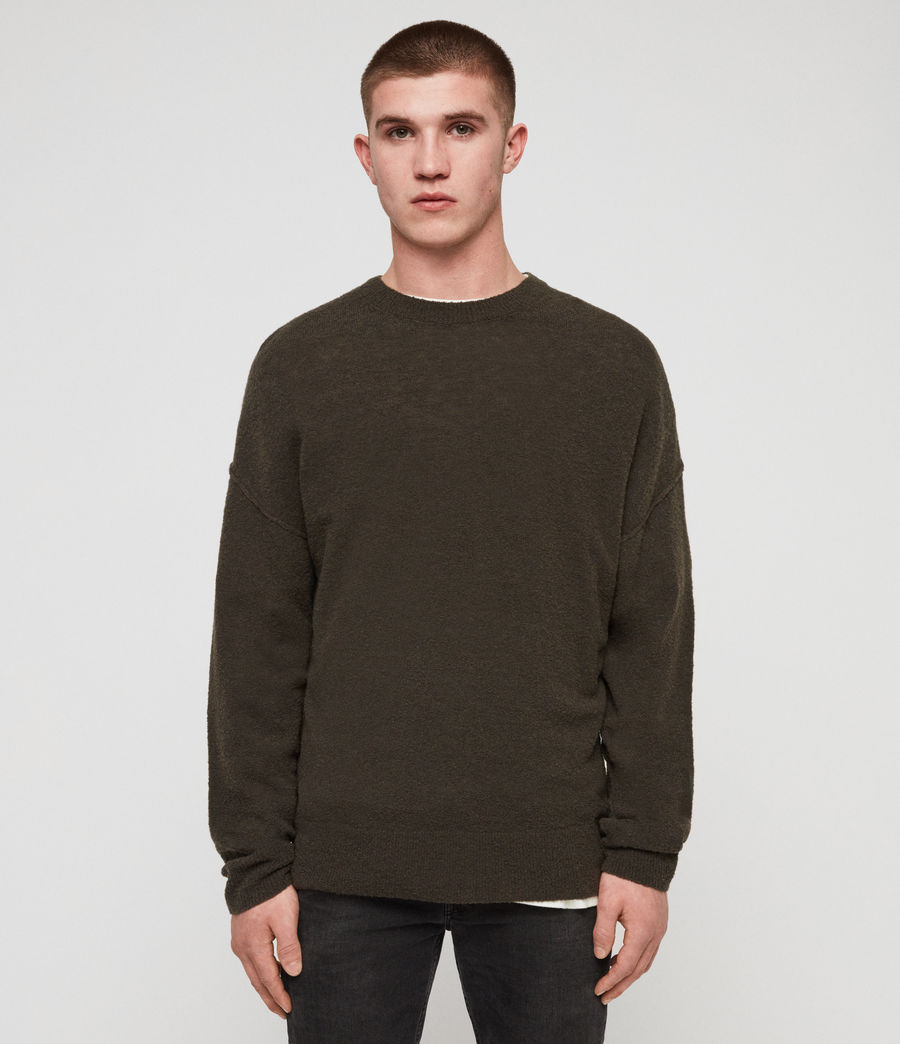 Mens Ridge Sweater (khaki_brown) - Image 1