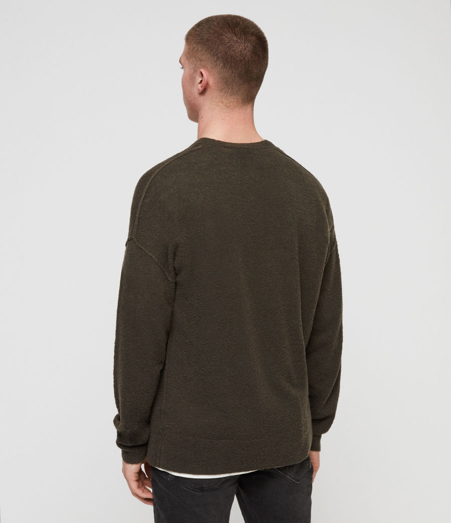Mens Ridge Sweater (khaki_brown) - Image 4