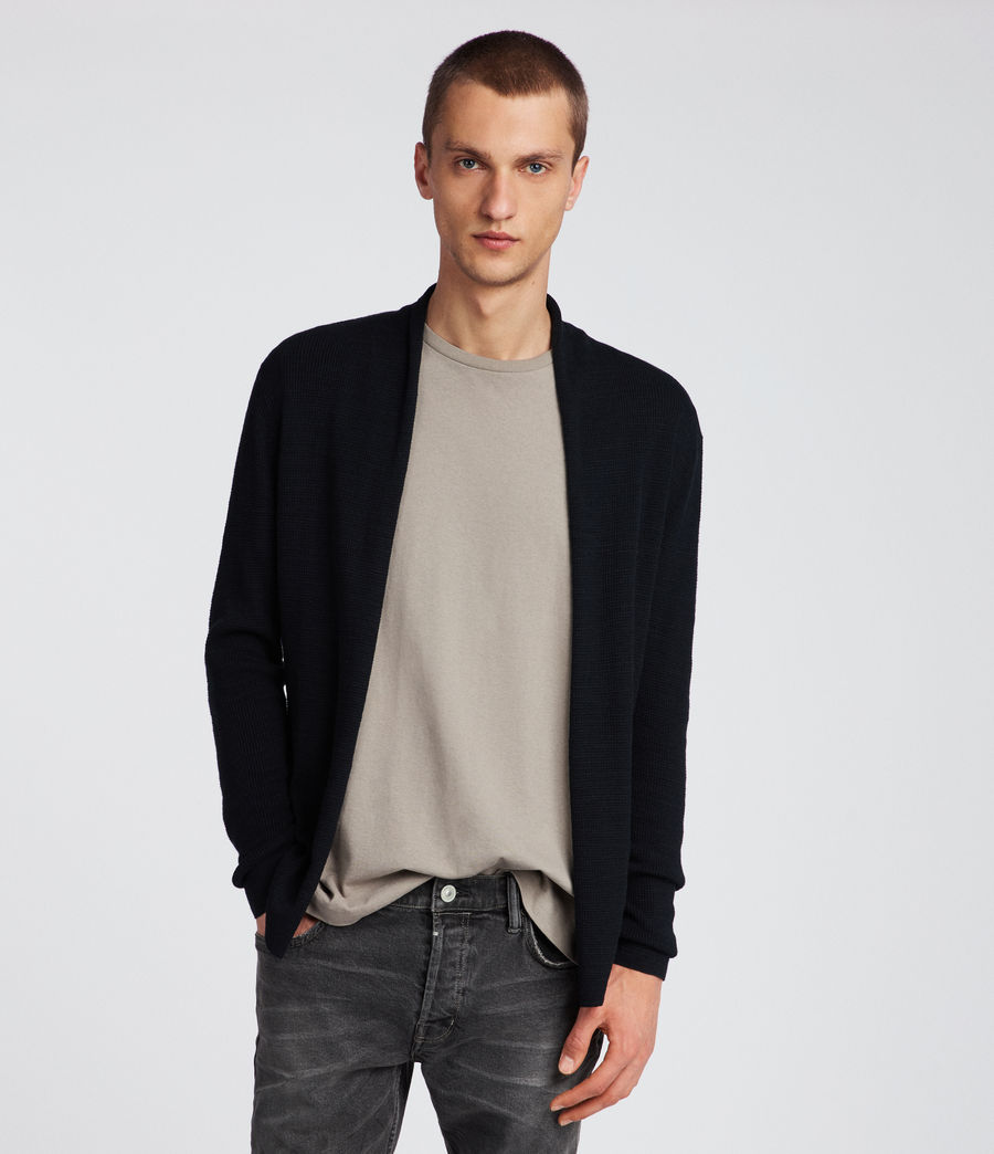 Men's Tylinn Cardigan (black) - Image 1