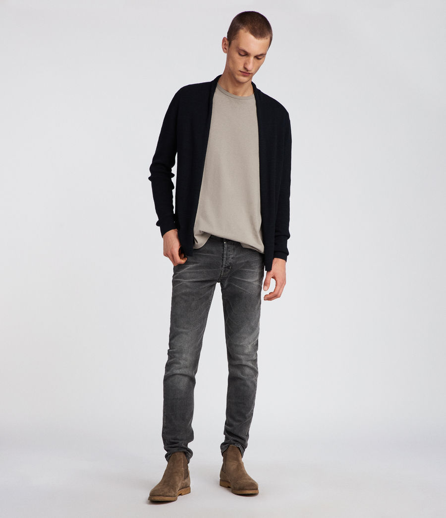 Men's Tylinn Cardigan (black) - Image 2