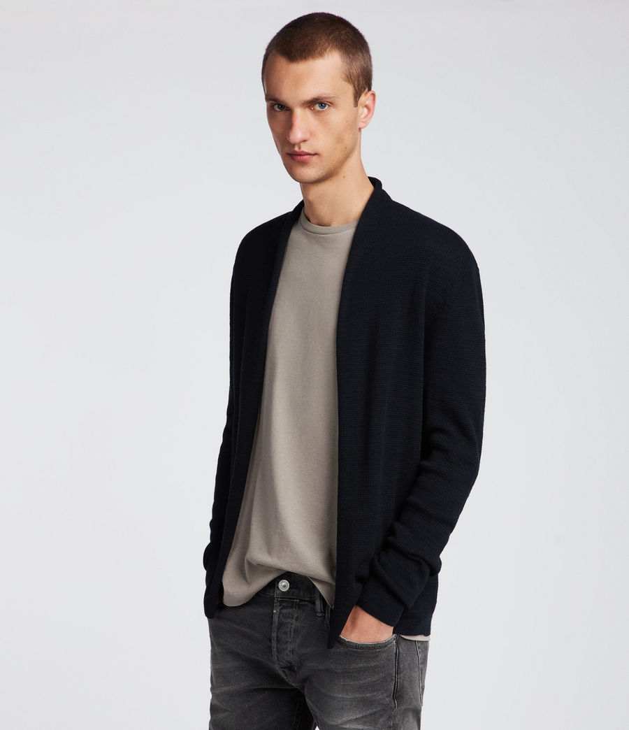 Men's Tylinn Cardigan (black) - Image 3