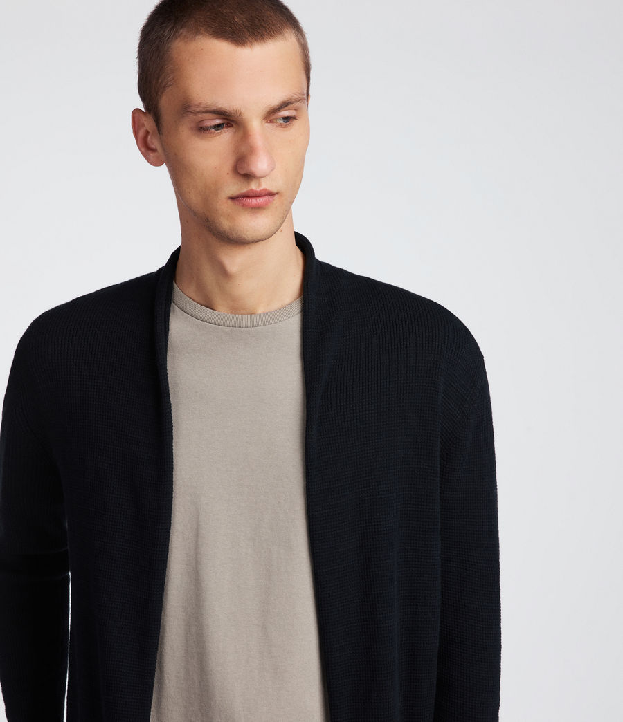 Men's Tylinn Cardigan (black) - Image 4