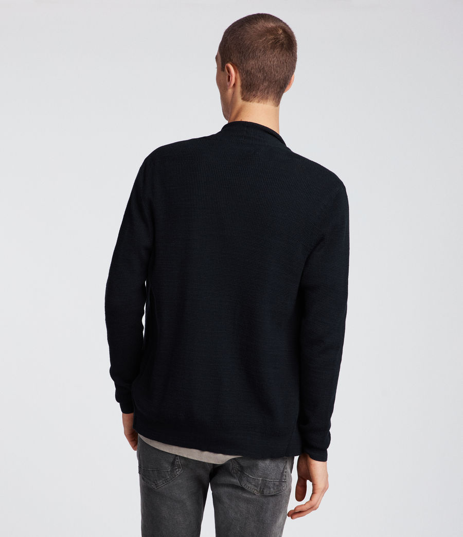 Men's Tylinn Cardigan (black) - Image 5