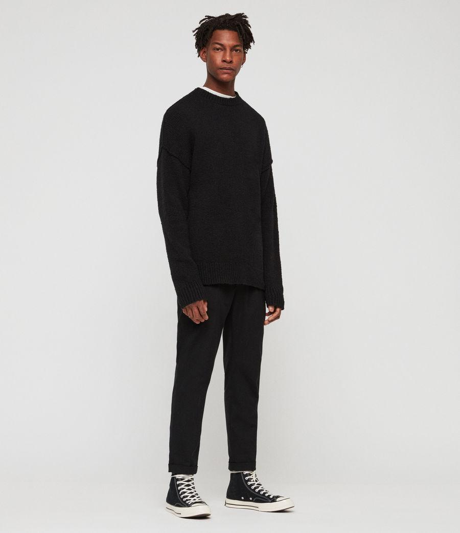 Hombre Suéter Edge (black) - Image 1