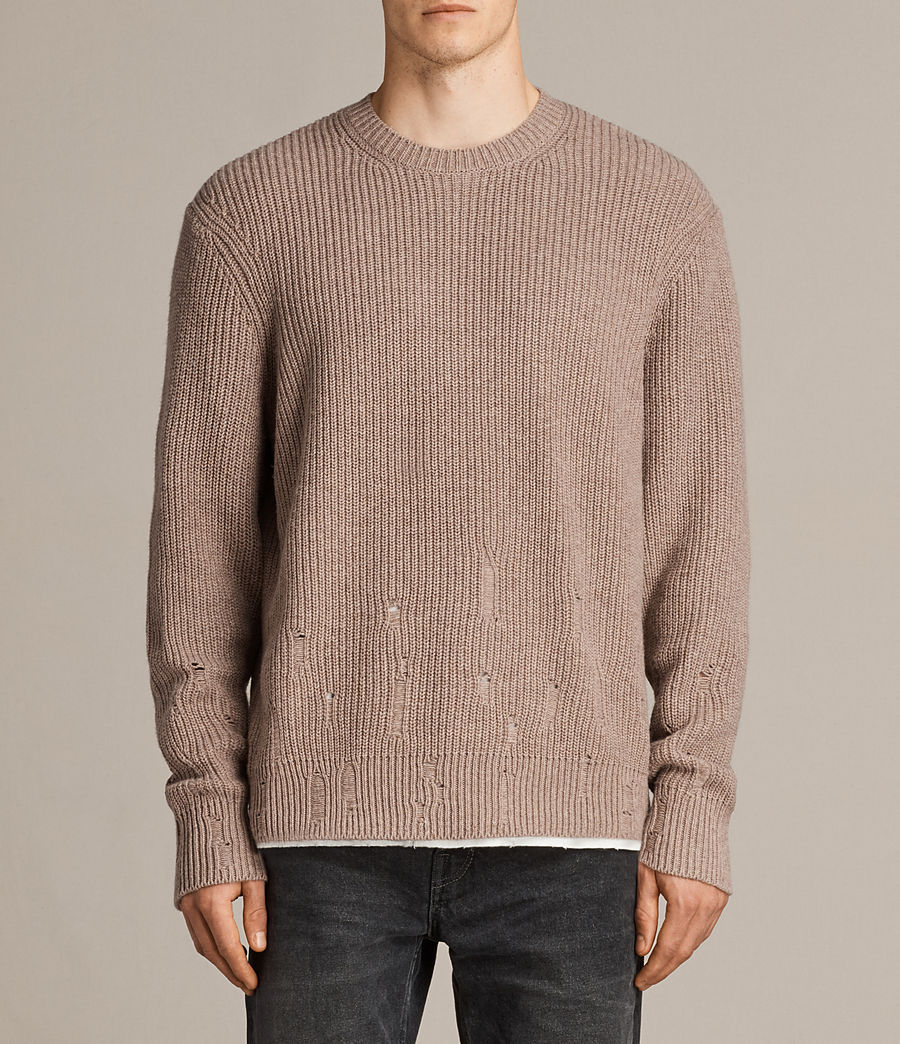 Hommes Pull Ivann (fawn_brown_marl) - Image 1