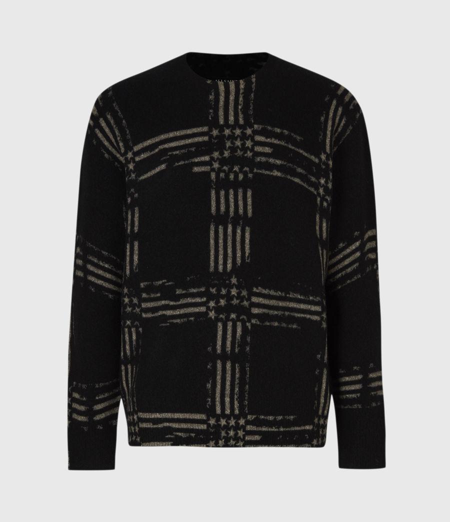 Mens Union Crew Sweater (black) - Image 2