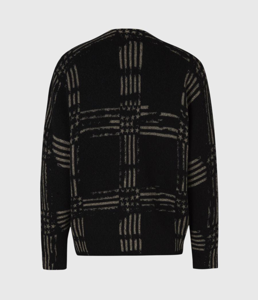 Mens Union Crew Sweater (black) - Image 3