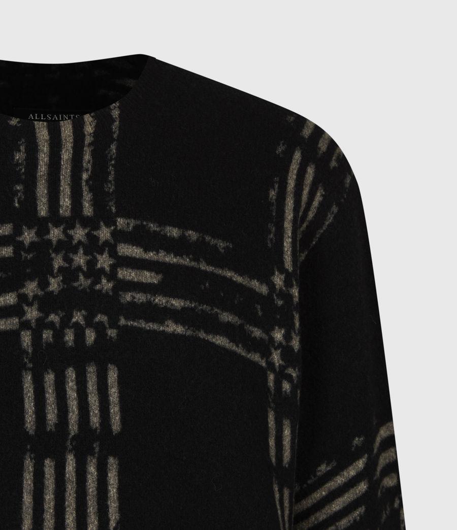 Mens Union Crew Sweater (black) - Image 5