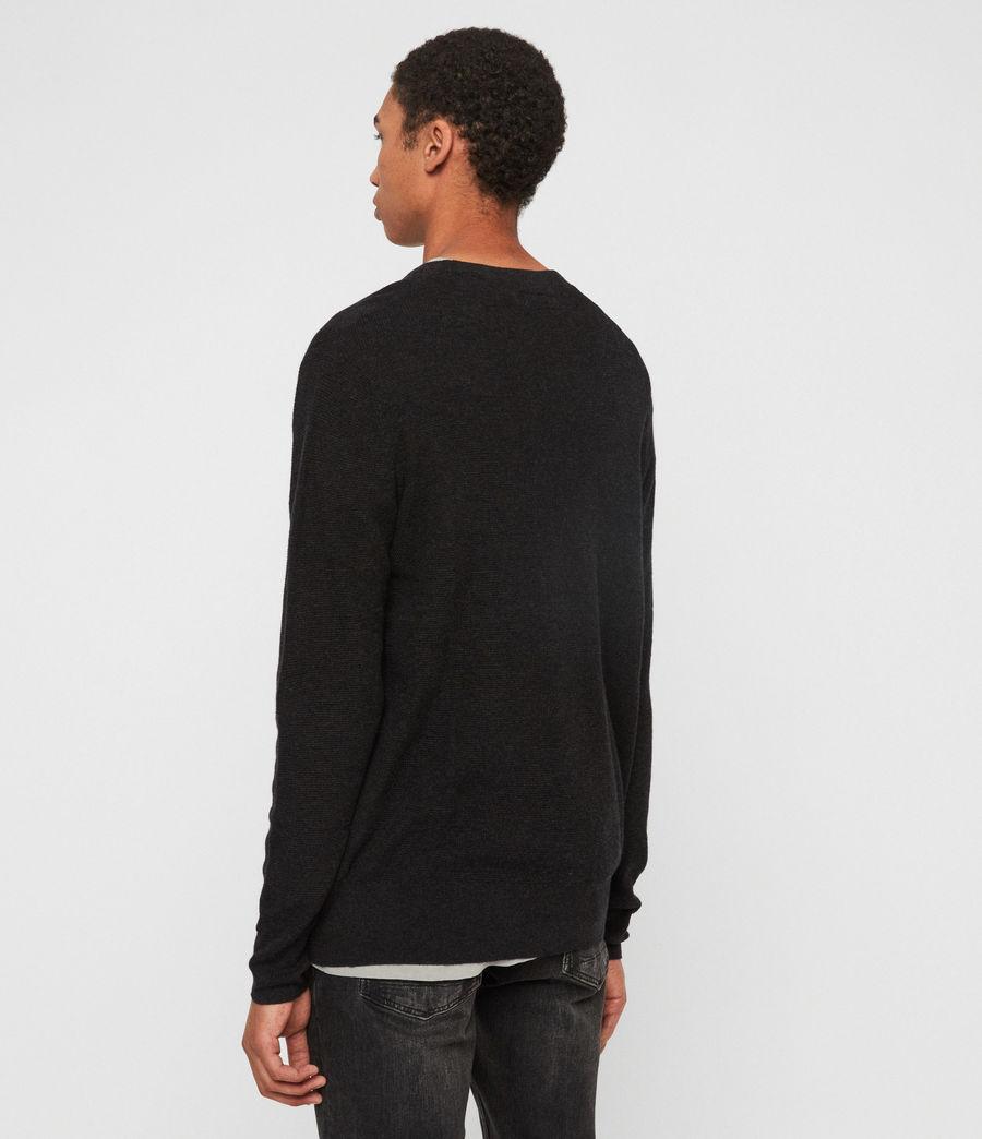 Mens Eben Crew Sweater (cinder_black_marl) - Image 5
