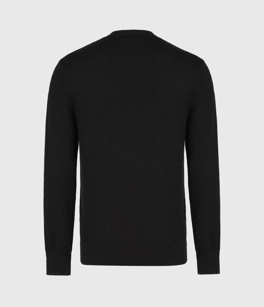 Mens Helm Crew Sweater (black) - Image 3