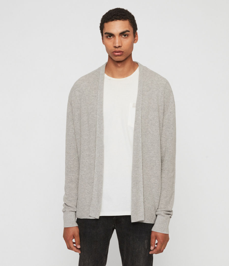 Uomo Cardigan Eben (pebble_grey_marl) - Image 1