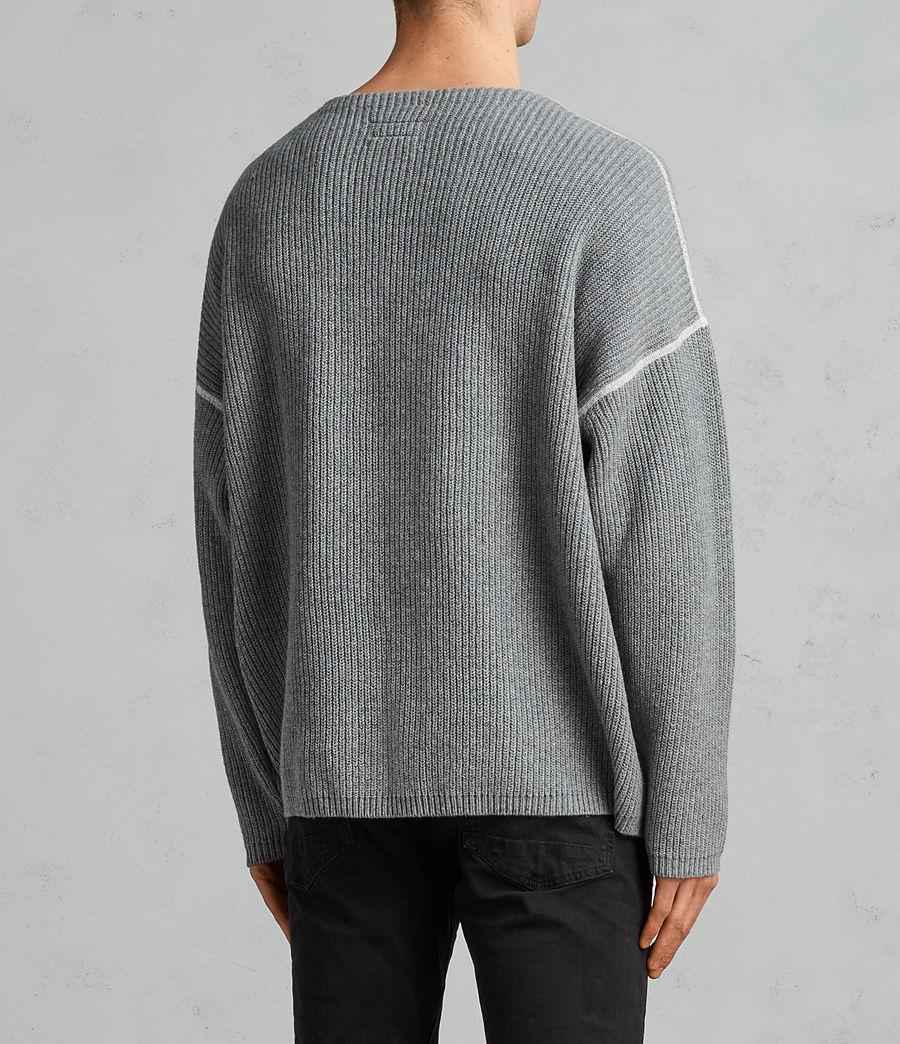 Herren Bind Pullover (grey_marl) - Image 3