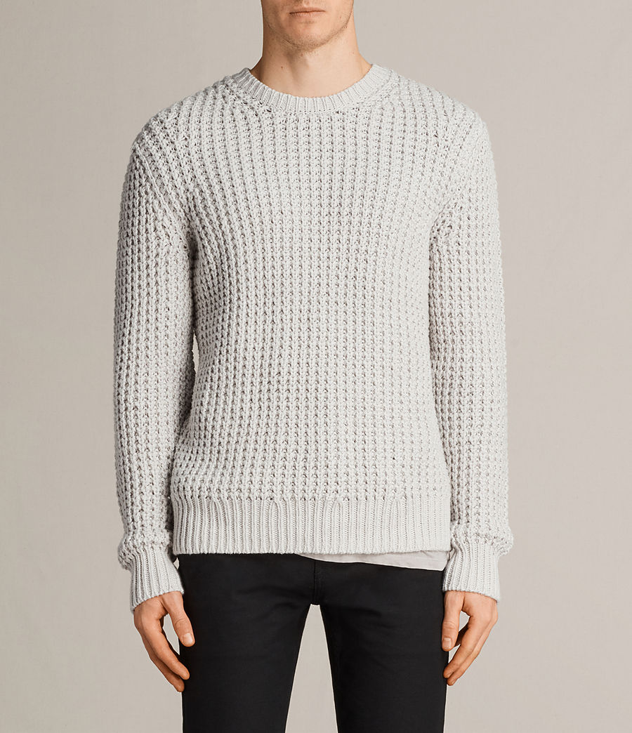 Men's Ren Crew Jumper (sodium_grey) - Image 1
