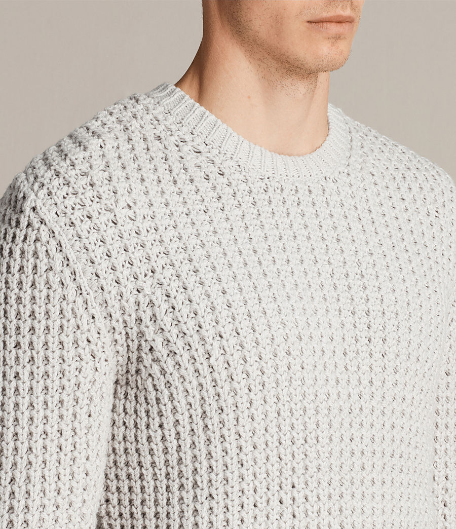 Men's Ren Crew Jumper (sodium_grey) - Image 2