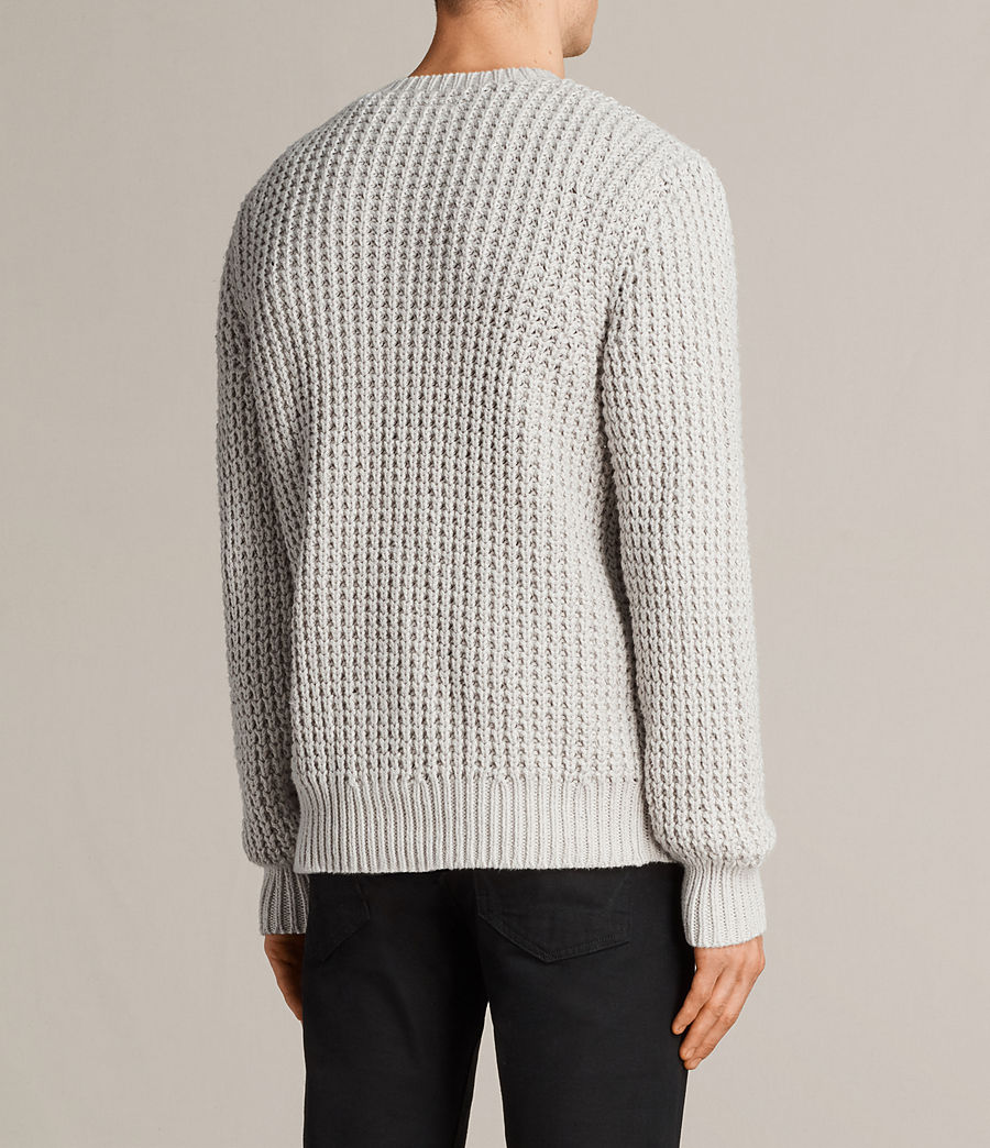 Men's Ren Crew Jumper (sodium_grey) - Image 4