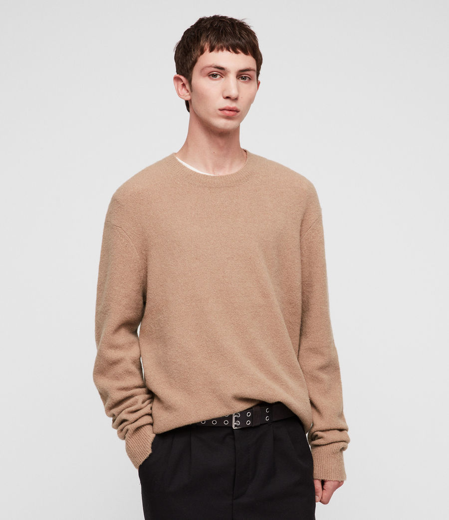 Herren Hawk Pullover (almond_brown) - Image 3