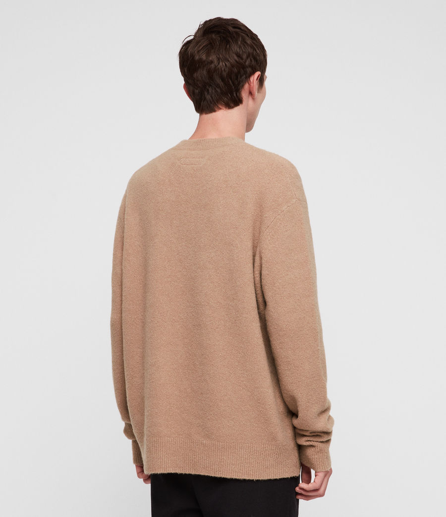 Herren Hawk Pullover (almond_brown) - Image 4