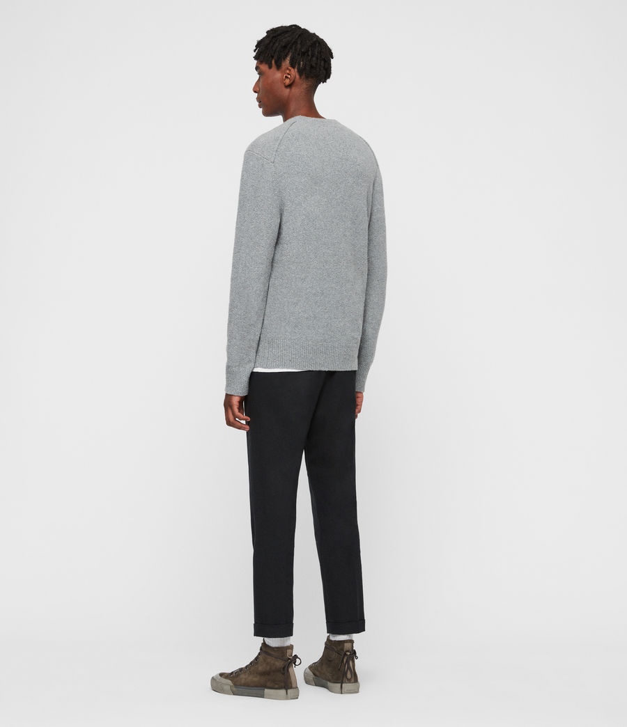 Mens Tolnar Crew Sweater (grey_marl) - Image 5