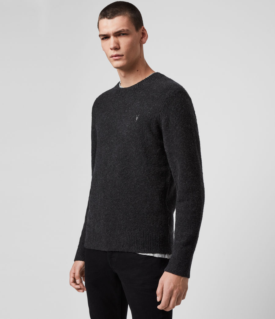 Men's Tolnar Crew Jumper (light_grey_marl) - Image 4