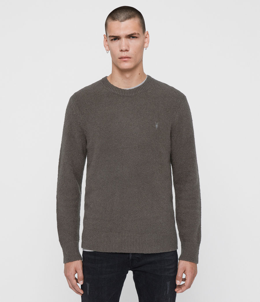 Men's Tolnar Crew Jumper (khaki_brown) - Image 1