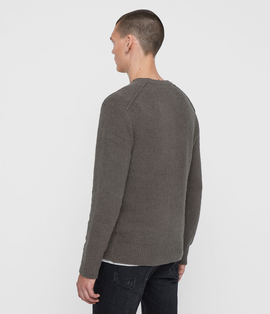 Men's Tolnar Crew Jumper (khaki_brown) - Image 5