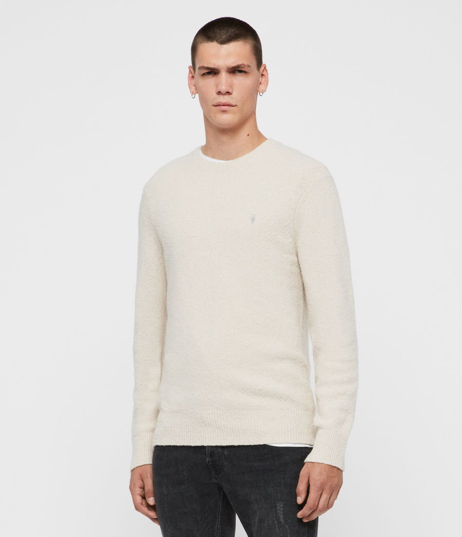Men's Tolnar Crew Jumper (grey_marl) - Image 4
