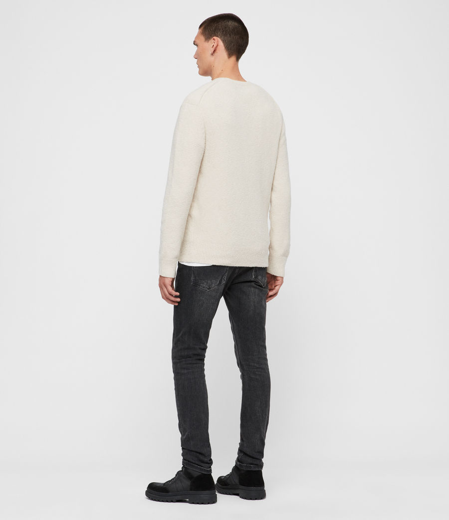 Men's Tolnar Crew Jumper (grey_marl) - Image 5