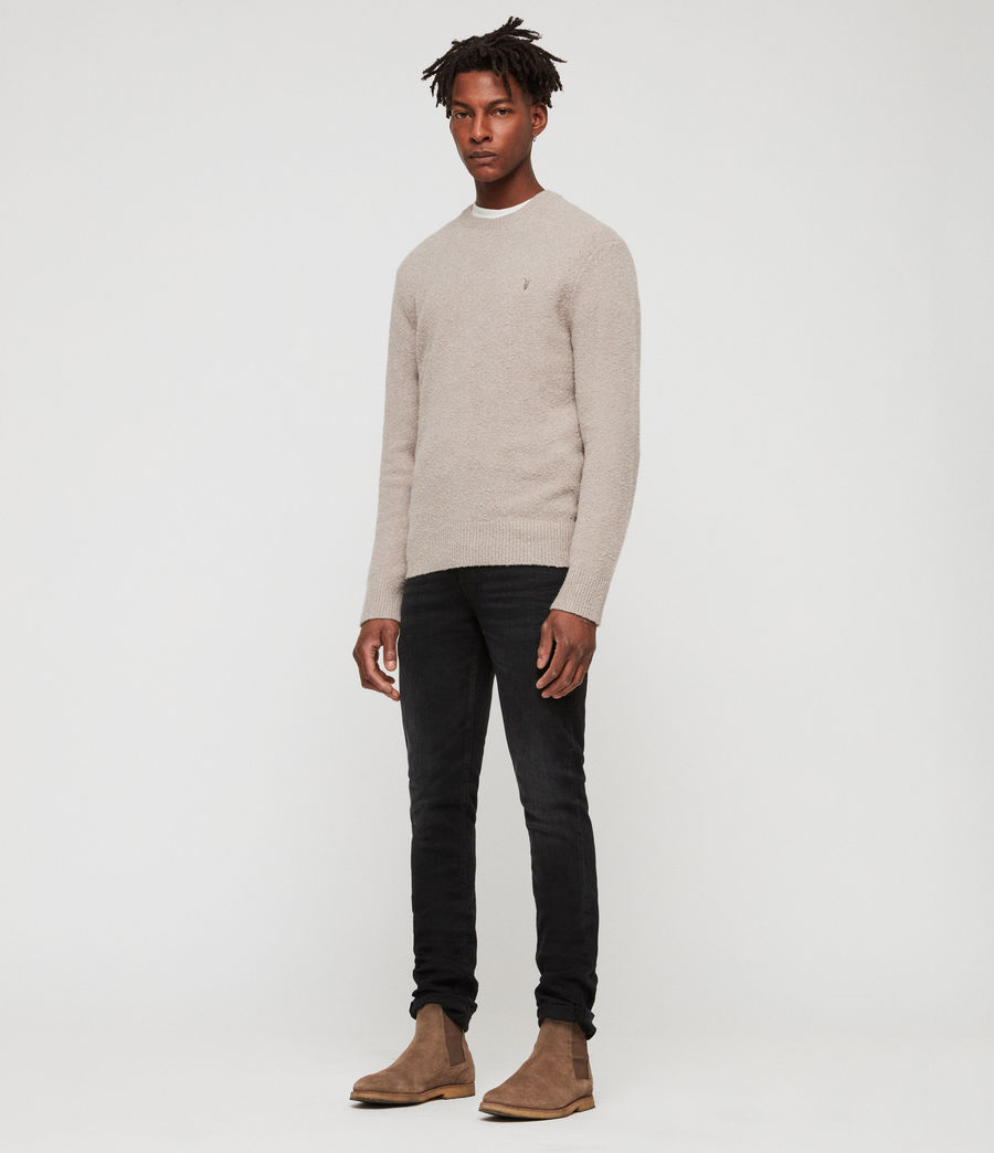 Men's Tolnar Crew Jumper (pewter_grey_marl) - Image 1