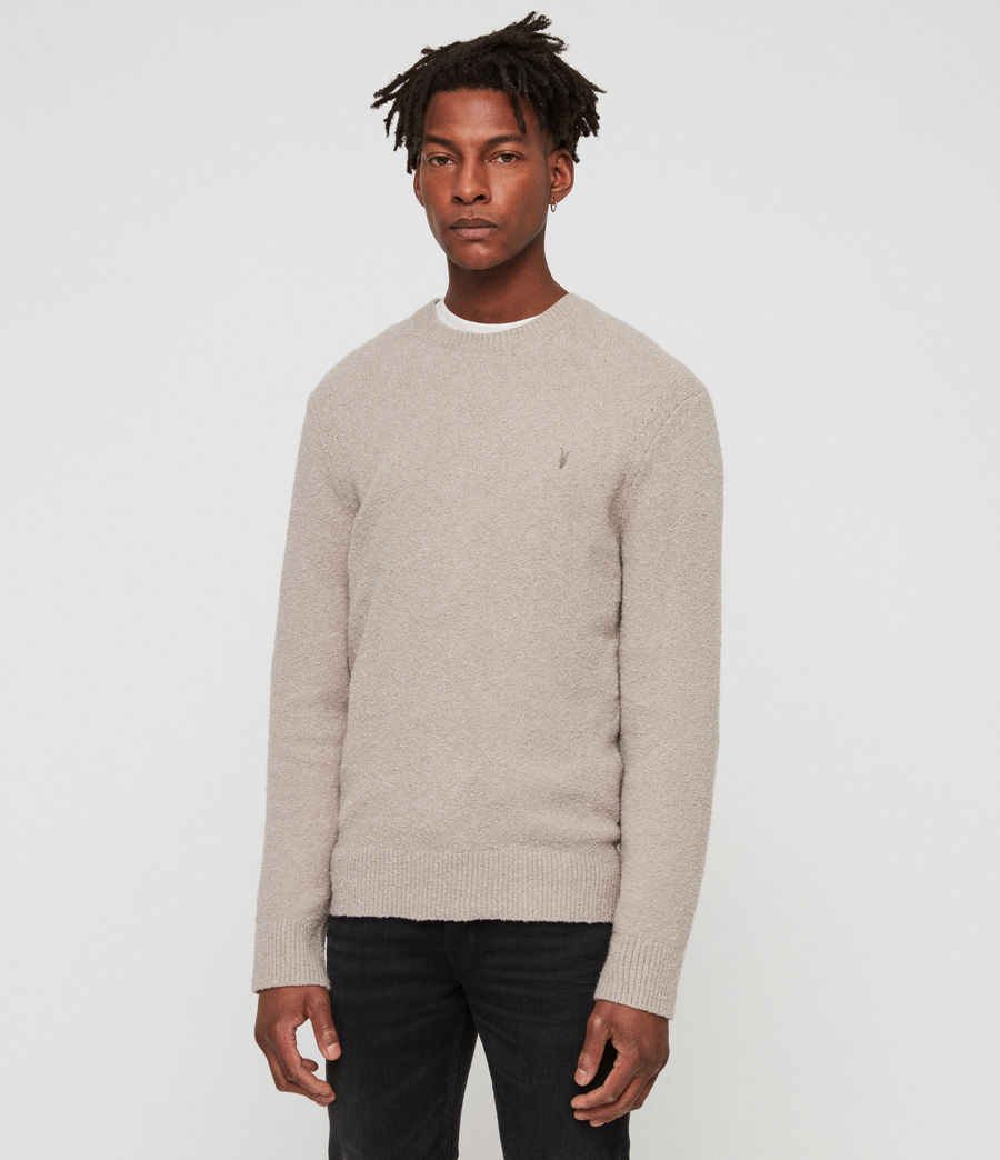 Men's Tolnar Crew Jumper (pewter_grey_marl) - Image 3