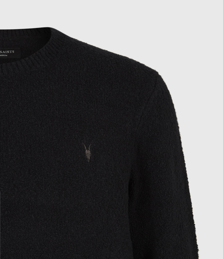 Men's Tolnar Crew Jumper (pitch_black) - Image 5