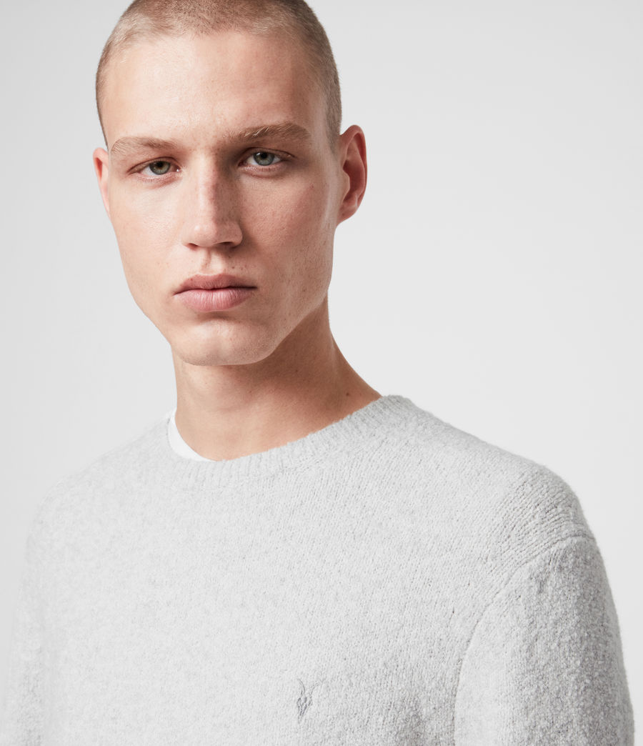 Hombre Tolnar Crew Sweater (light_grey_marl) - Image 2