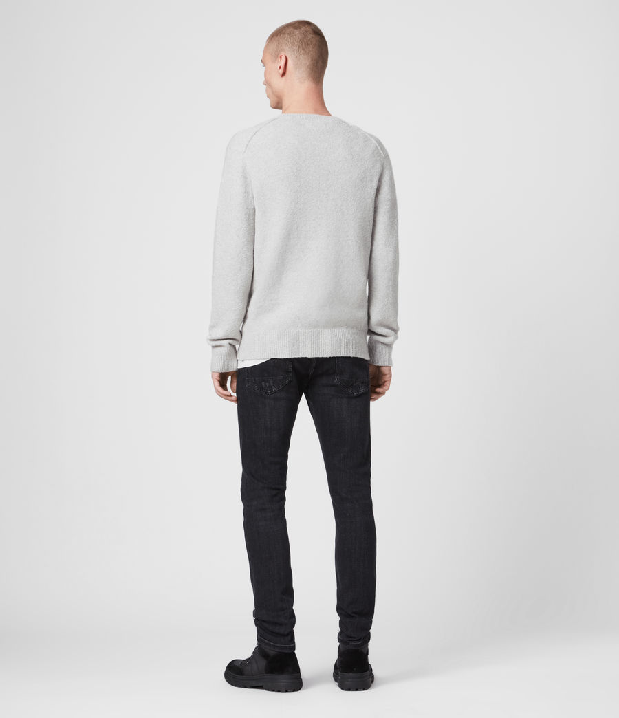 Hombre Tolnar Crew Sweater (light_grey_marl) - Image 4