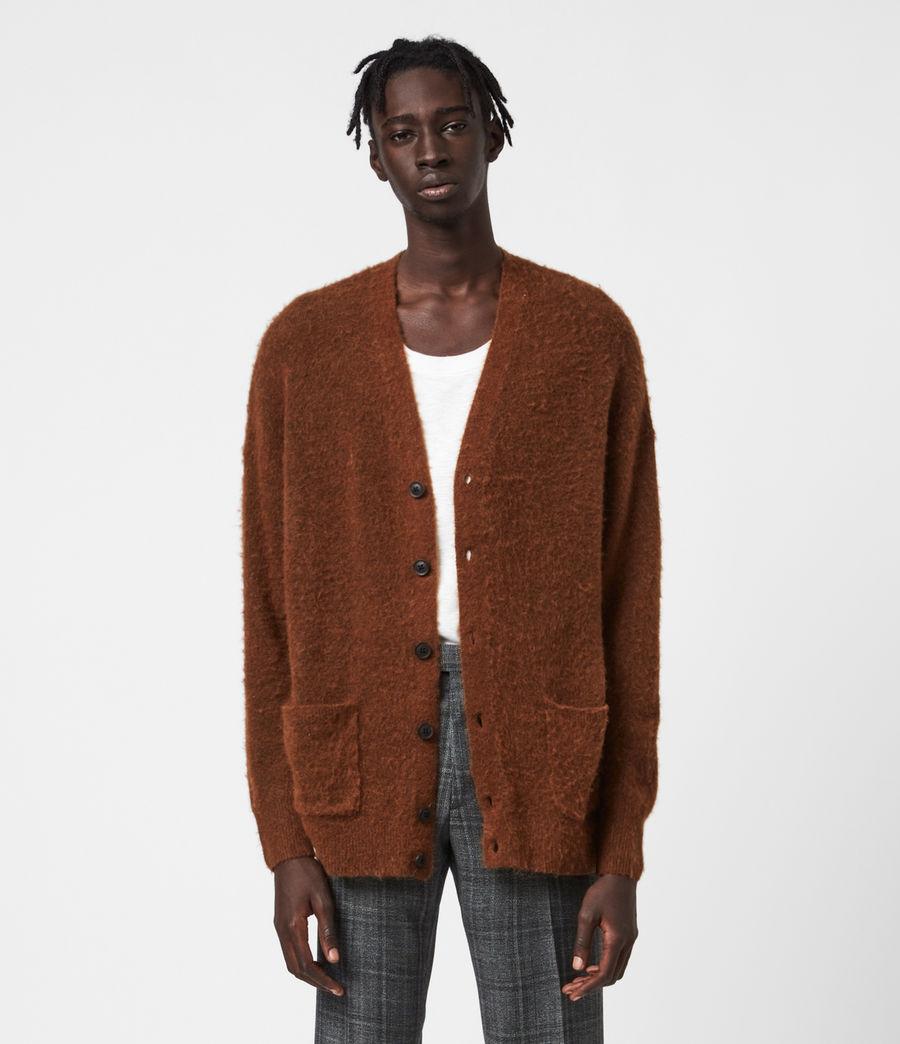 Men's Varley Cardigan (cinnamon_brown) - Image 1