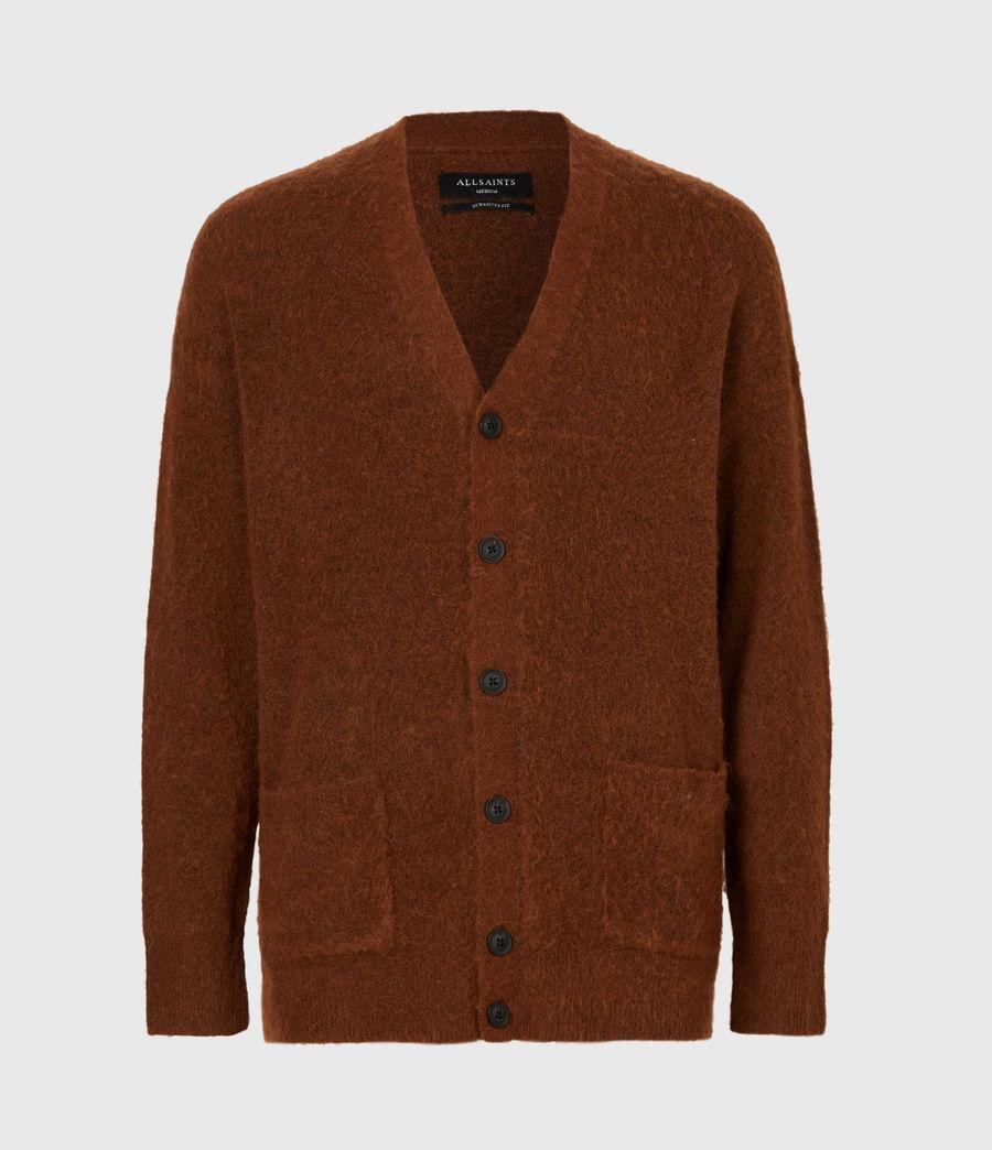 Men's Varley Cardigan (cinnamon_brown) - Image 2