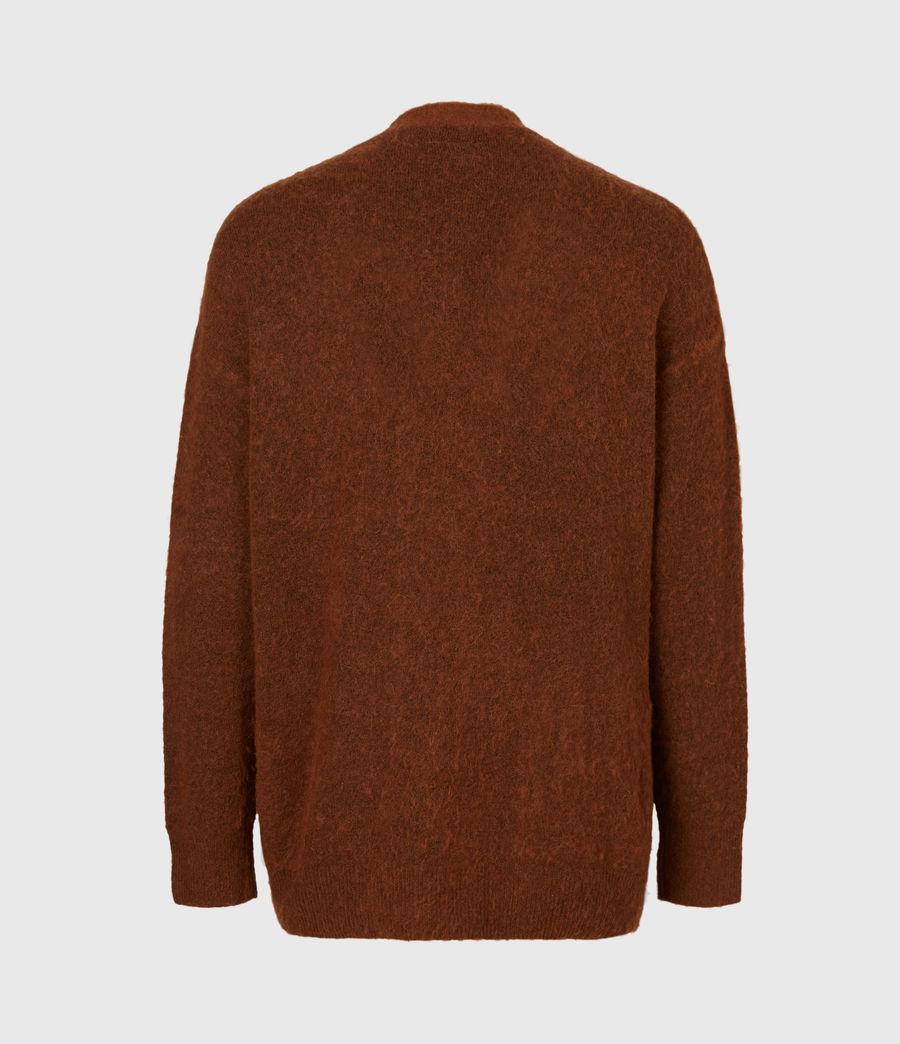 Men's Varley Cardigan (cinnamon_brown) - Image 3